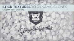 Stick Textures to Fallen Dynamic Clones In Cinema 4D on Vimeo