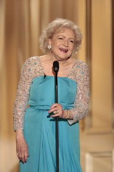 How can you not love this lady? I wish I were as funny as she.  Fabulous Betty White!