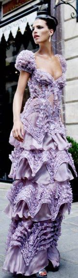Glamour dress #purple