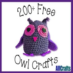 200+ Free Owl Crafts Updated