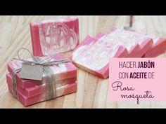 Hacer jabón con aceite de rosa mosqueta - YouTube