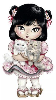 Jilie & cats