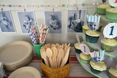 this is such a cute 1st birthday!  not too over the top, but so fun!