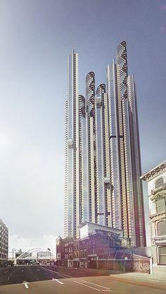 Vertical London SuperSkyScrapers 2014 - Organic skyscraper London, Final
