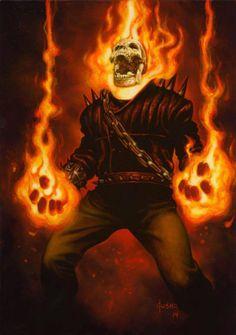 Ghost Rider by Joe Jusko