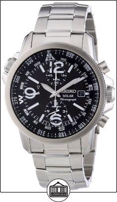 SEIKO SSC075P1 - Reloj de Caballero movimiento de cuarzo con correa de acero. de  ✿ Relojes para hombre - (Gama media/alta) ✿