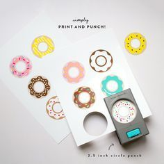 Free Donut Printables | Oh Happy Day! Doughnut party