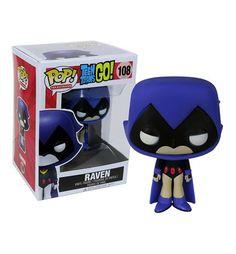 Teen Titans Go Raven Pop Vinyl Figure