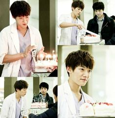 'Emergency Couple' ChoiJinHyuk a Surprise Birthday Party Happy belated bday! *(^0^)*