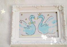 ペタペタして完成♡一生の記念に残せる可愛い〔手形アート〕を結婚式につくりたい**のトップ画像