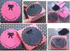 Este bloquinho personalizado é uma ótima sugestão para lembrancinha da sua festa linda!  É um presente fofo e útil para seu Chá de Lingerie! Segue embalado individualmente em celofane, arrematado por fita de cetim. Disponíveis para encomendas em http://www.elo7.com.br/amornopapel/cha-de-lingerie/al/47B93 Vou adorar fazer seus mimos. Bjks, Sônia