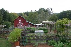 The small farm, like the single seed, is both bountiful and beautiful. (Public domain)