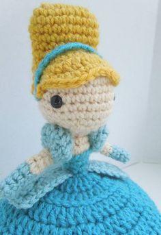 Cinderella Doll Crochet PATTERN