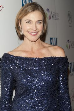 Brenda Strong Brenda Strong, Dallas Tv Show, Desperate Housewives, Ex Wives, Most Beautiful Women, Actors & Actresses, Off Shoulder Blouse, Eye Candy, Hair Styles
