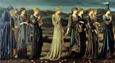 Edward Burne-Jones, The Wedding of Psyche (1895), Royal Museums of Fine Arts, Brussels
