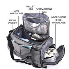 Cheap Price 15 inch Gym Bag Multifunction Men Sports Bags Woman Fitness Bags Laptop Backpacks Hand Travel Storage Bag With Shoes Pocket Yoga Diaper Bag Backpack, Laptop Backpack, Diaper Bags, Travel Backpack, Travel Luggage, Sport Fitness, Woman Fitness, Fitness Equipment, Travel Accessories