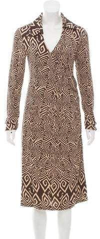 Diane von Furstenberg Printed Silk Dress.  #ad