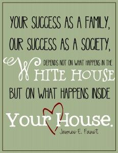 your success as a family...is up to you! | www.livecrafteat.com