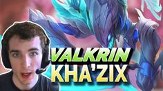 Valkrin Kha'zix Stream   Kha'Zix vs Nidalee JUNGLE 6 13 Gameplay Season 6