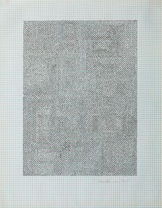 Eva Hesse No title, 1967 Ink on graph paper