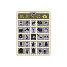 Bar Bingo #bar #bingo #fun #games #forthemen #forthemancave #musthave #newarrival #gift #holidayshopping #jumpstart #southbeachswimsuits