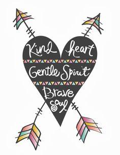 """Kind-Gentle-Brave"" Bohemian Gypsy Jane"