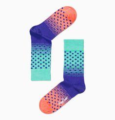 Happy Socks: Cute paired with black jeans. #Socks #Happy_Socks