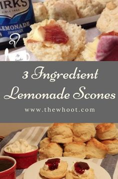 You will love this Lemonade Scones CWA Recipe that is legendary! You only need 3 ingredients and the results are out of this world. Watch the video too.