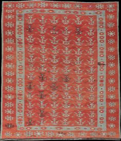 Vintage Rugs from Galerie Shabab - A Bessarabian Kilim, - x Discount Area Rugs, Kilims, Persian Rug, Oriental Rug, Wall Tapestry, Vintage Rugs, Bohemian Rug, Antiques, Romania