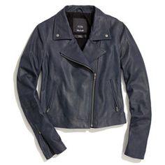 Veda x Madewell leather moto jacket