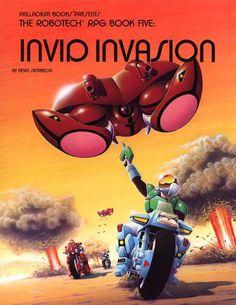 Robotech® Invid Invasion Sourcebook, 1988 Edition - Palladium Books | Robotech RPG | DriveThruRPG.com