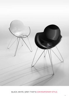 Formas diferentes que le darán a tus espacios un look innovador. Chair, Furniture, Home Decor, Innovative Products, Spaces, Shapes, Decoration Home, Room Decor, Home Furnishings