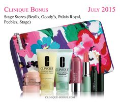 This gift can be yours at Bealls, Goody's, Palais Royal, Peebles or Stage stores with only $27 purchase. http://clinique-bonus.com/other-us-stores/