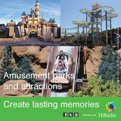Although our children are in summer school they still need some fun in the sun! We're asking for your support in creating lasting summertime memories. Please click below and find out how a small investment can enrich a child's life. http://www.hillsides.org/content/amusement-parks-and-attractions