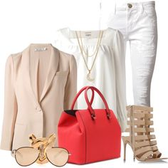 """""""5 red designer handbags for spring and summer #3"""" by myfashionwants on Polyvore"""