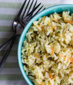 Erren's Kitchen - Vegetarian Rice Pilaf - This recipe for Vegetarian Rice Pilaf is quick, easy, and really delicious.