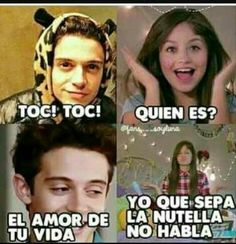 Mas bien el amor de mi vida Hispanic Jokes, Funny Images, Funny Pictures, What Meme, Im Selfish, Kid Memes, Son Luna, Smiles And Laughs, Disney Channel
