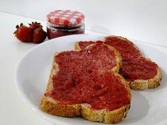 Receta de mermelada de fresa sin azúcar  http://dulcesdiabeticos.com/receta-de-mermelada-de-fresa-sin-azucar/