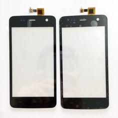 Nueva Táctil de Capactive Para Explay Vega Frente Táctil de Cristal Digitalizador Panel de Pantalla Táctil de Color Negro + 3 m etiqueta