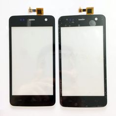 ESUWO Nouveau Capactive Tactile Pour Explay Vega Avant Écran Tactile En Verre Digitizer Panneau Écran Tactile Noir Couleur + 3 m autocollant
