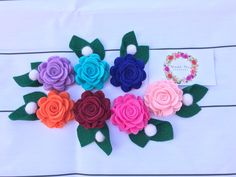 A personal favorite from my Etsy shop https://www.etsy.com/listing/506359667/felt-flowerbaby-headband-toddler-girl