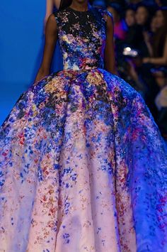 chiffonandribbons:  Elie Saab Couture S/S 2014