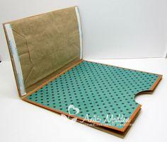 Lunch Bag / Paper Bag Card - tutorial - bjl