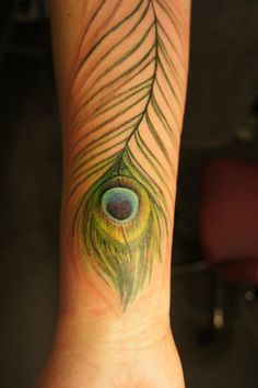 Peacock Feather Tattoo | Best Tattoo Ideas & Designs