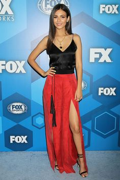 Victoria Justice – Fox Network 2016 Upfront Presentation in New York Victoria Dawn Justice, Victoria Justice Outfits, Zoey 101, Tori Vega, Mtv, Hottest Female Celebrities, Beautiful Celebrities, Celebs, World Most Beautiful Woman