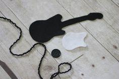 Crochet Rock Star Guitar Hat Pattern