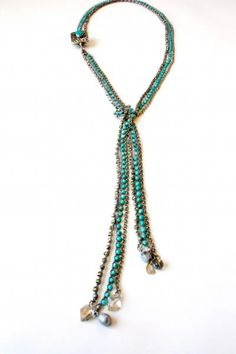 Tibetan scarf necklace- i jewels by Isabel