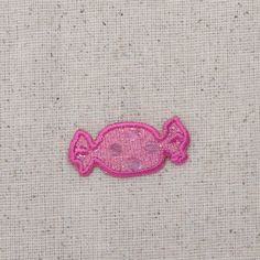 """2 5//8/"""" Smiling Mushroom Fungi Vegetable Food Embroidery Patch"""