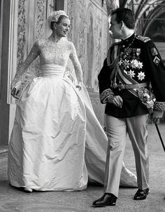 Robe de mariée des stars : la robe de mariée de Grace Kelly