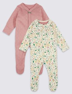 1ce2d06fcf ... Cotton Sleepsuits in pink white green leaf design. See more at http. Girls  SleepwearGirls ShoppingBaby Boy OutfitsCottonBoy ClothingLeaf DesignBabies  ...